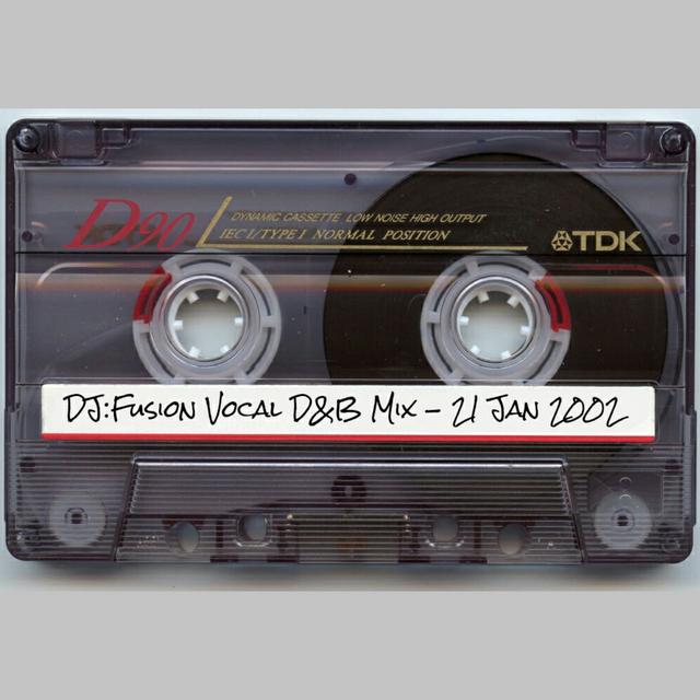 Vocal D&B Mix (21st January 2002)