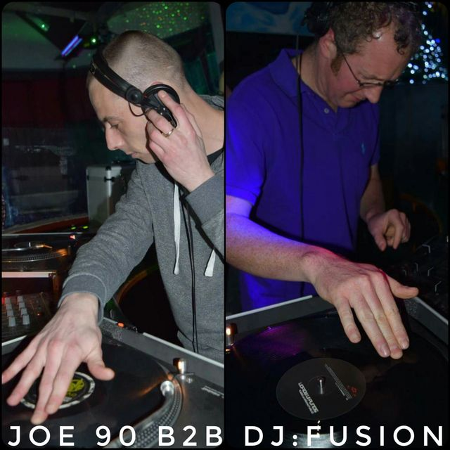 DJ Fusion B2B Joe 90 with MC Marty & Duracell - Regenerate Xmas Party at KC's (9th Dec 2016)