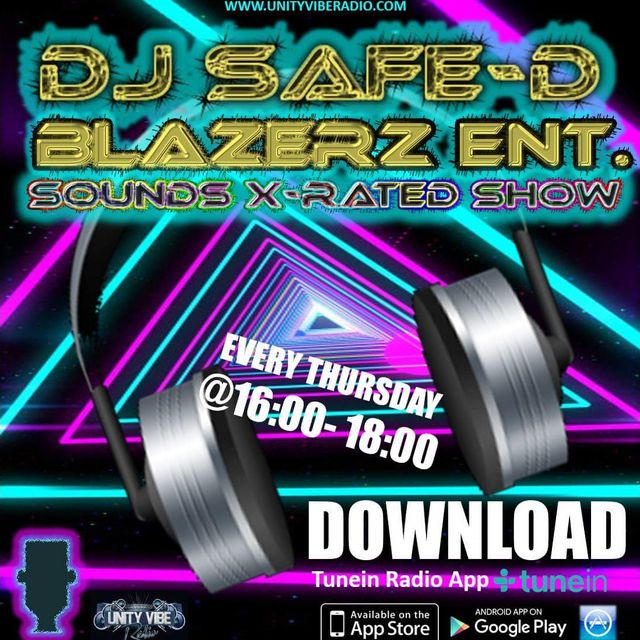 DJ Safe-D - Unity Vibe radio - Thursday - 03-11-16