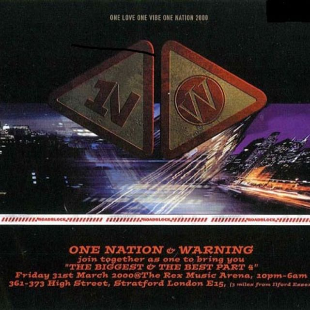 Bad Company One Nation & Warning 'The Biggest & The Best Part 4' 31st March 2000
