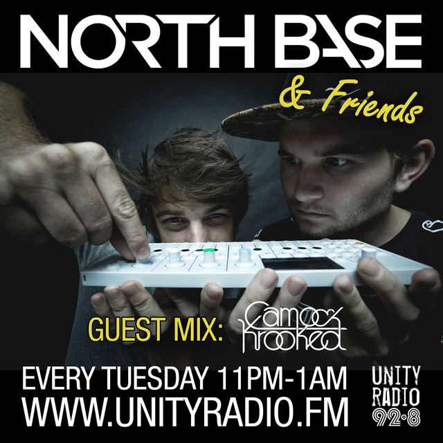 North Base & Friends Show #13 Guest Mix By CAMO & KROOKED [2016 12 20]