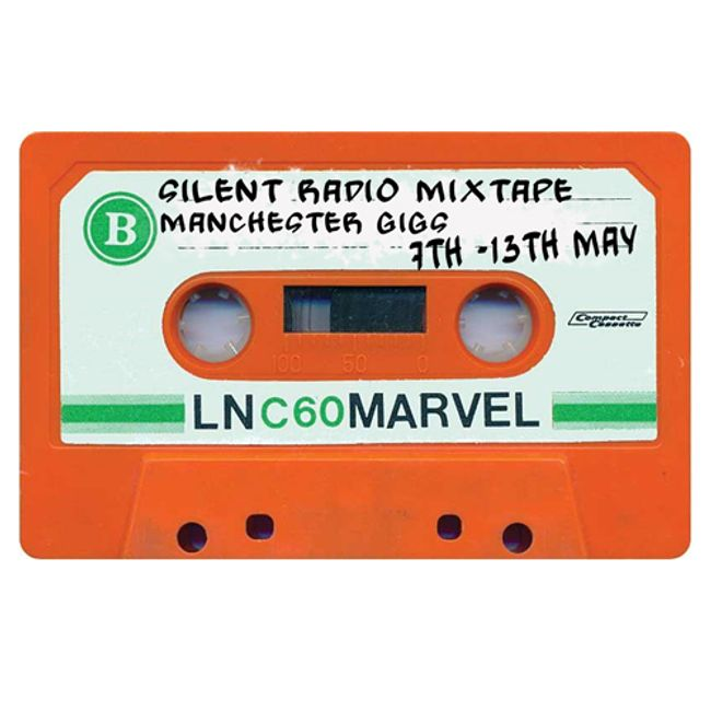 Silent Radio Gig Guide Mixtape 07/05/2018 - 13/05/2018