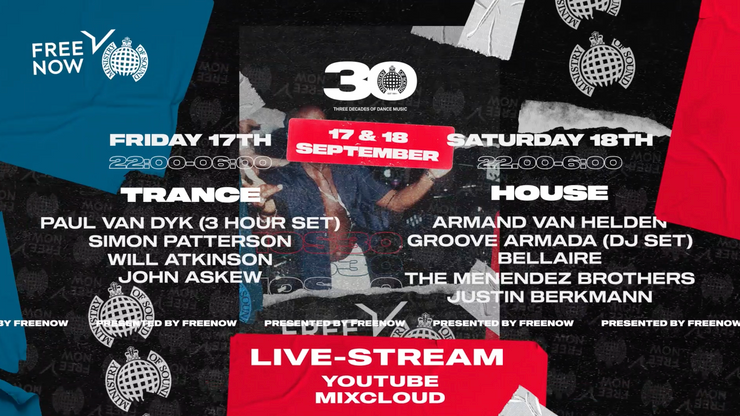 30th Birthday Live From Ministry of Sound (ITS OUR F*CKING BIRTHDAY!)