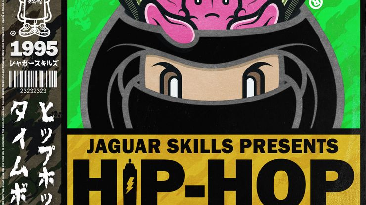 Jaguar Skills Presents Hip-Hop Time Bomb - 1995