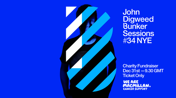 John Digweed Bunker Sessions New Year's Eve Livestream