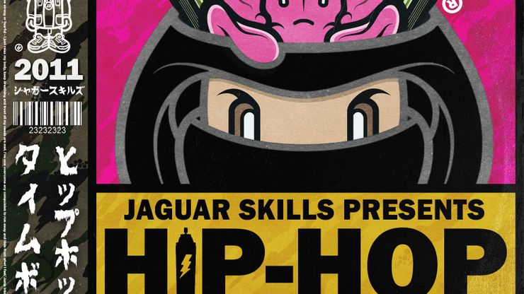 Jaguar Skills Presents Hip-Hop Time Bomb - 2011