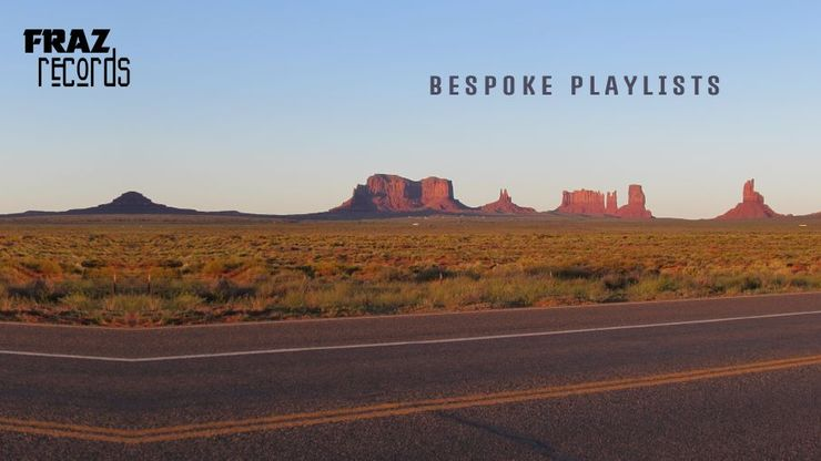 Explore highlands, deserts, lochs,  and volcanos with my bespoke playlists.