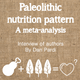 A meta-analysis of the paleolithic nutrition pattern - interview of authors logo