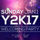 Y2K17 Welcoming Party