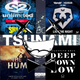 Get Ready for the Hum of Tsunami in the Deep Down Low Live Night (Infected Rhythm Mega-Mashup)