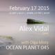 Alex Vidal - Ocean Planet 045 Guest Mix [Feb 17 2015] on Pure.FM DJ mix set