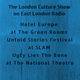 Hotel Europe @ The Green Rooms, Untold Stories @ SLAM & Ugly Lies The Bone @ The National