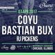 Bastian Bux - Live @ Spybar (Chicago, USA) - 07.04.2017