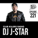 Club Killers Radio #221 - DJ J-Star logo