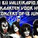Jeanette wint twee VIP kaarten voor het concert van KISS - 2-4-2015
