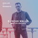 Duncan Wallis (Dutch Uncles) - Wednesday 9th August 2017 - MCR Live Residents