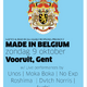 #675 #MadeInBelgium Live from Vooruit, Gent.  4-hour special of upcoming homegrown talent.