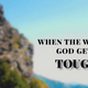 When The Will Of God Gets Tough - Audio