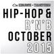 Hip-Hip & R'n'B - October 2015 DJ mix set