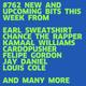 #762 NEW CARDOPUSHER | CHANCE THE RAPPER | EARL SWEATSHIRT | KAMAAL WILLIAMS | LORD & DEGO ...