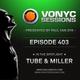 Paul van Dyk's VONYC Sessions 403 - Tube & Miller logo