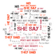 He Say, She Say by NJ3 @NJ3Live and They Said by Poet Just Robert @PoetJustRobert2