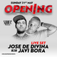 Javi Bora b2b Jose de Divina #SpaceOpening Fiesta 2015 (Flight Club)