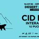 Cid Inc - Live @ Desert In Me´s 1st Anniversary, Buenos Aires - 14-07-2018 pt.1