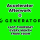 Accelerator Afterwork Amuse-Bouche (Generator Hostel Barcelona March 2017 Promos Review)