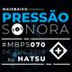 Pressão Sonora - 06-07-2019