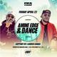 2016.04.22 - Amine Edge & DANCE @ Audio, San Francisco, USA logo