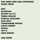 #755 New Kamaal Williams   JOY O  Neue Grafik   Slowthai   Kelela   Tierra Whack   Mick Jenkins