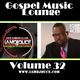 The Gospel Music Lounge Vol. 32 logo
