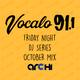 Vocalo October Mix (Friday Night DJ Series)