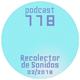 RECOLECTOR DE SONIDOS 118-02/2018