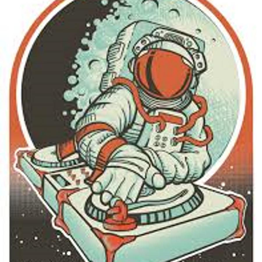 retro astronaut posters - 491×635