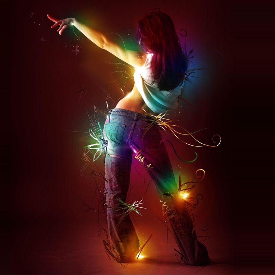я танцую разноцветные картинки время, большинство