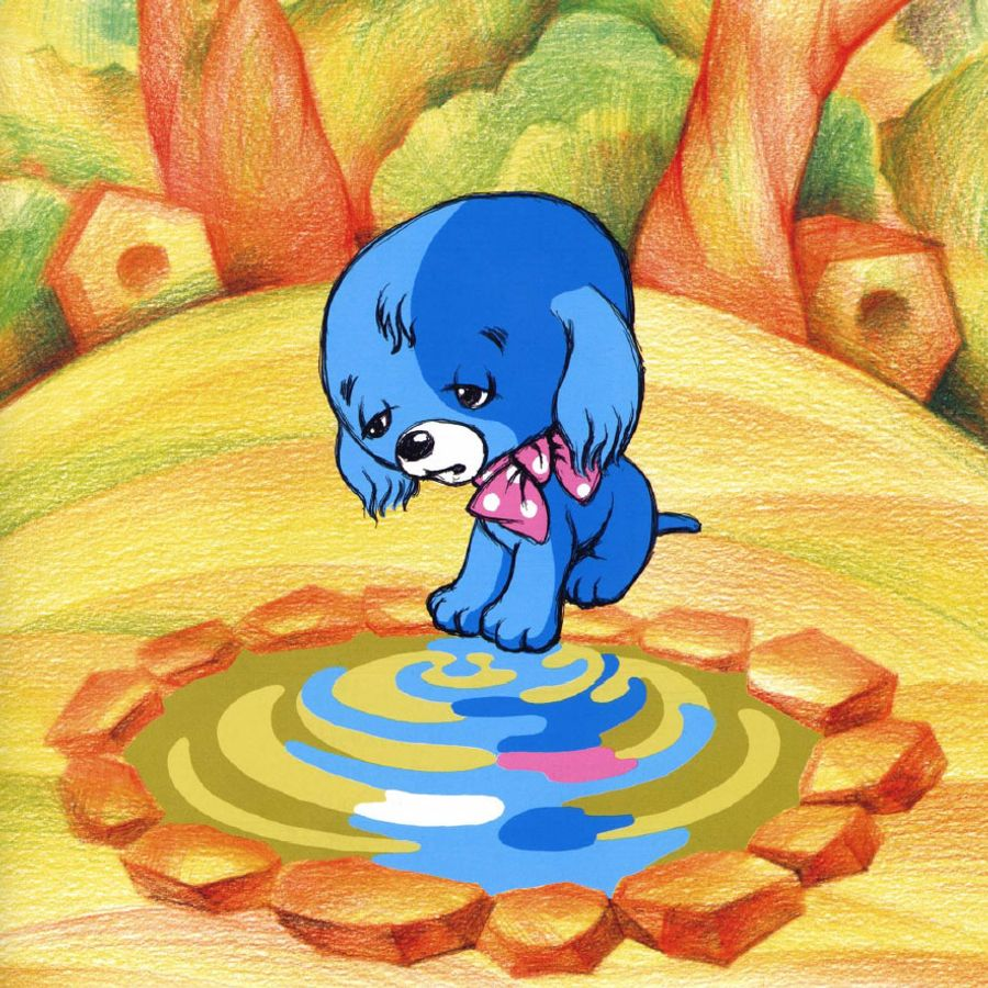попытавшись выкинуть голубой щенок сказка картинки построить собственный