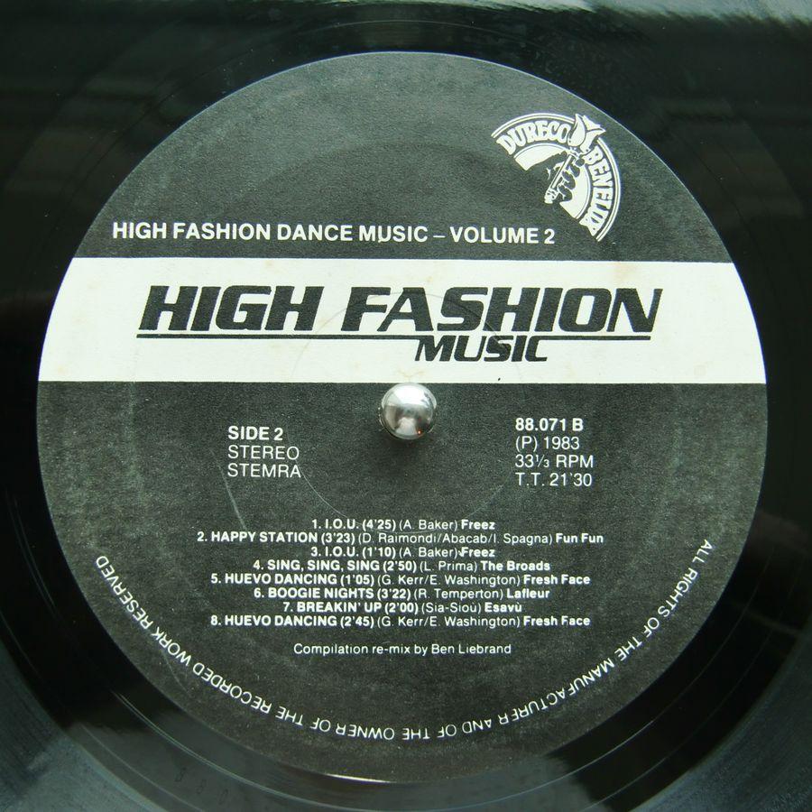 High fashion dance music