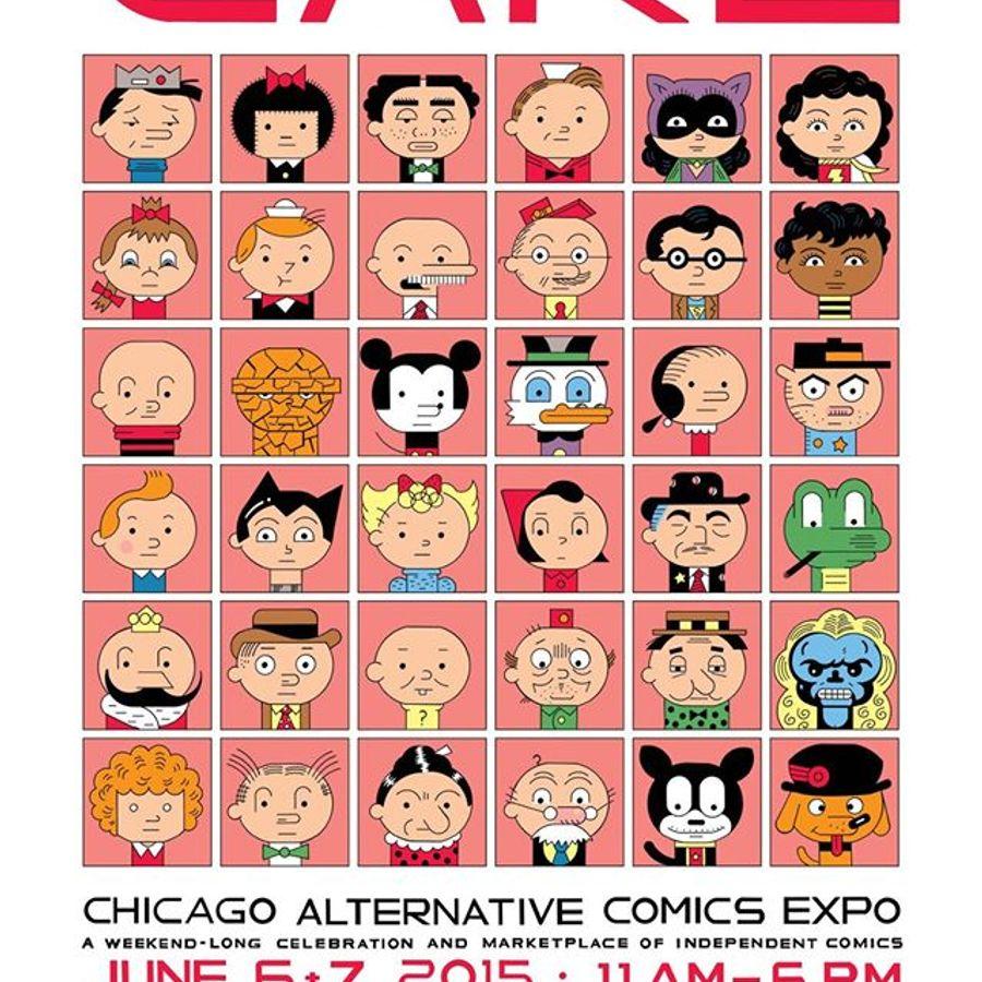 chicago alternative comics expo - 900×900